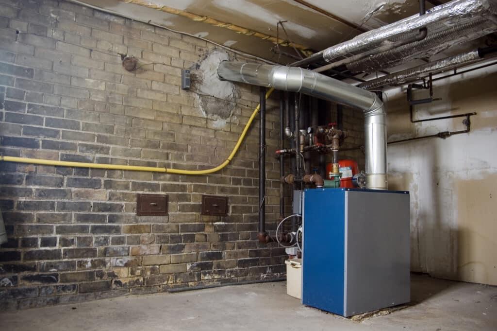 boiler in basement